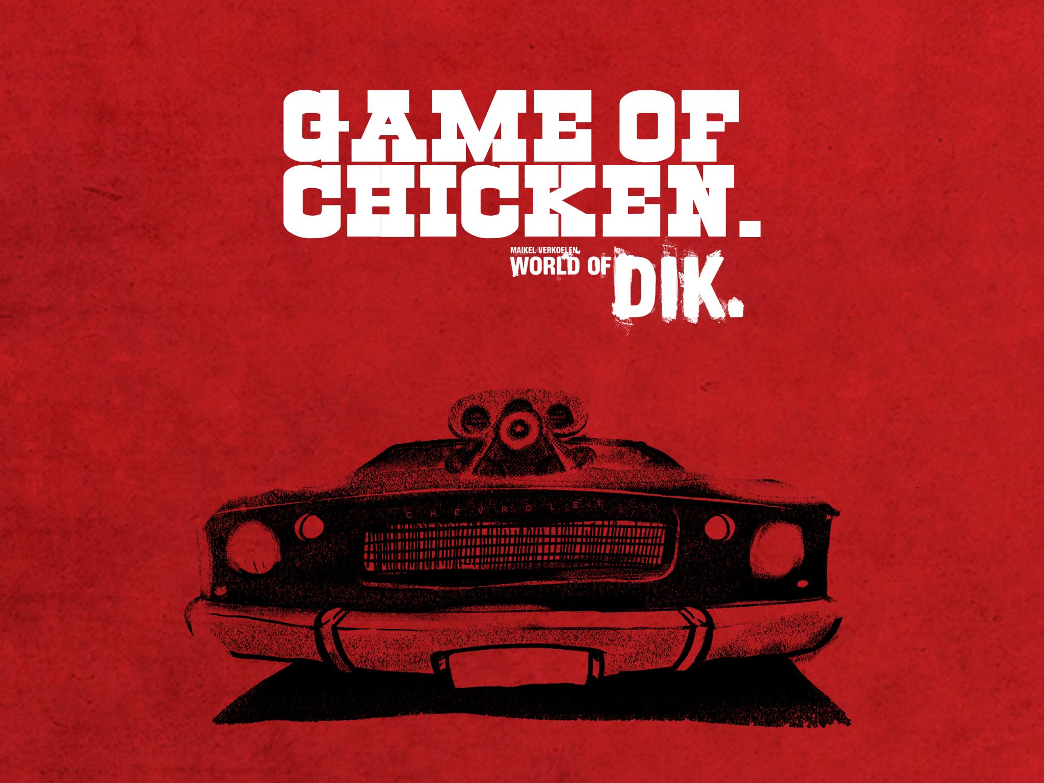 Game of Chicken versie 2 in de playstore