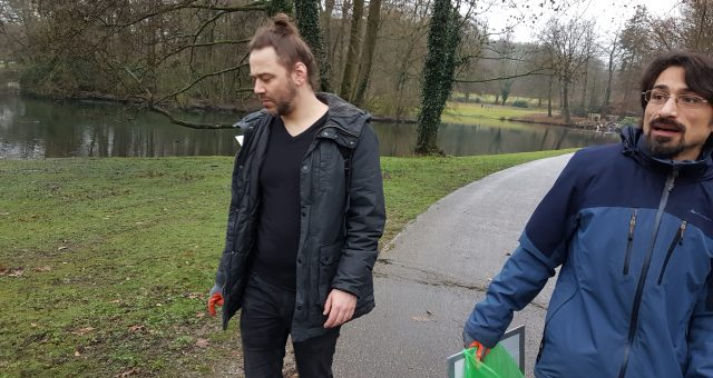 On tour in Sonsbeekpark